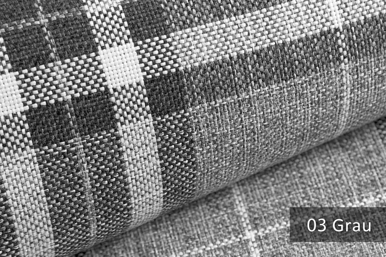 novely london british style karierter m belstoff polsterstoff meterware farbe 03 grau novely. Black Bedroom Furniture Sets. Home Design Ideas