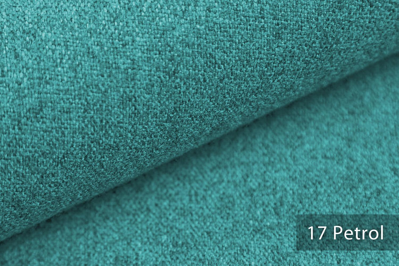 novely malchin flauschiger polsterstoff im leinenlook farbe 17 petrol novely. Black Bedroom Furniture Sets. Home Design Ideas