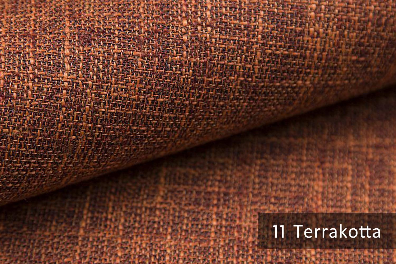 novely mirow webstoff polsterstoff farbe 11 terracotta novely. Black Bedroom Furniture Sets. Home Design Ideas