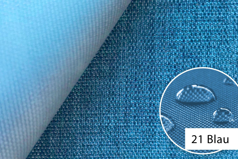 novely oxford 660d m lange polyester stoff pvc wasserdicht farbe 21 blau novely. Black Bedroom Furniture Sets. Home Design Ideas