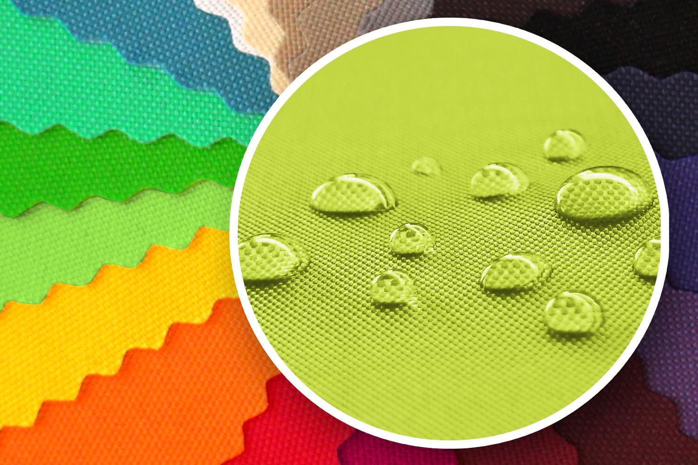 novely sunset 420d polyester stoff uv best ndig farbe 19 kiwi gr n novely. Black Bedroom Furniture Sets. Home Design Ideas