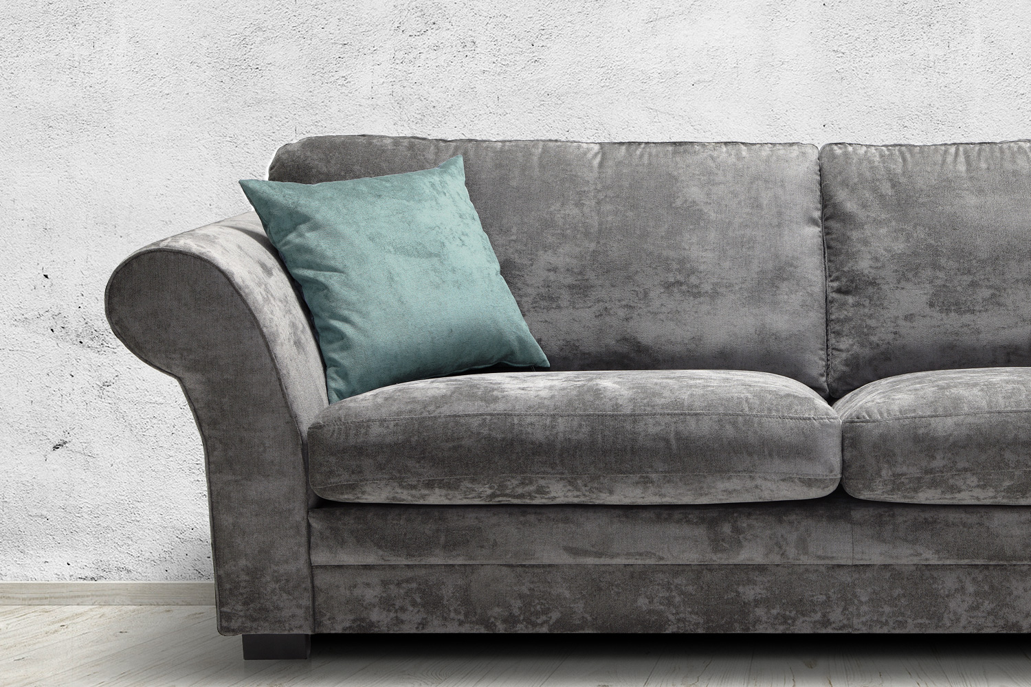Novely issum samtig weicher m belstoff farbe 14 lila for Sofa 2 meter